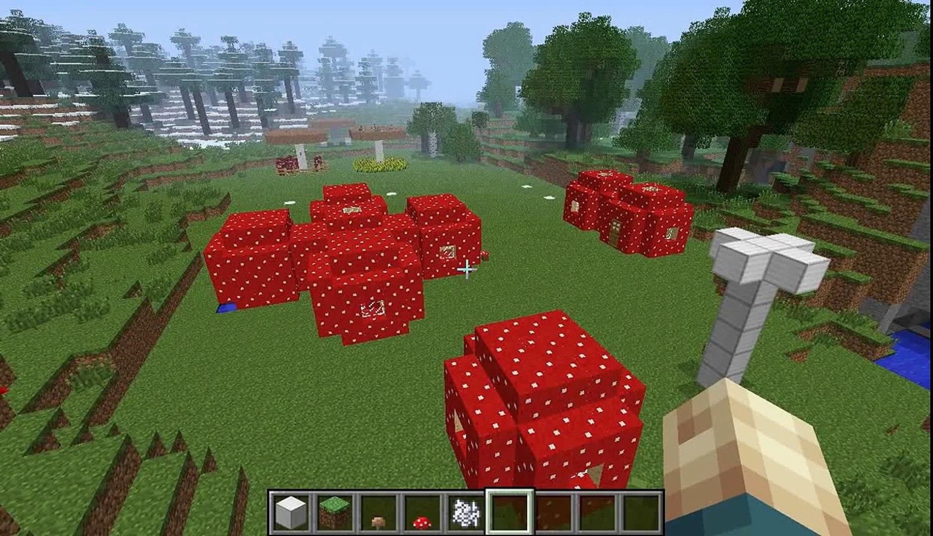 Les Maisons Champignon Dans Minecraft Tuto Et Idées Déco