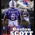 Boston Scott Football Highlights Zachary High Bronco Highlights 2012-13