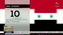 Siria: diez muertos, la mayoría niños, por ataques en Guta Oriental