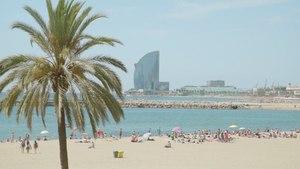 A Living Postcard from Barceloneta