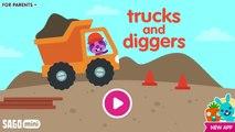 Fun Sago Mini Games - Kids Play & Learn Build Fun Playful With Sago Mini Trucks And Diggers