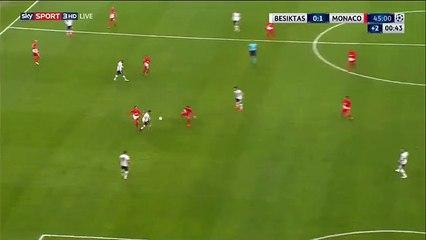 Rony Lopes Goal 0-1 Besiktas vs Monaco 01.11.2017