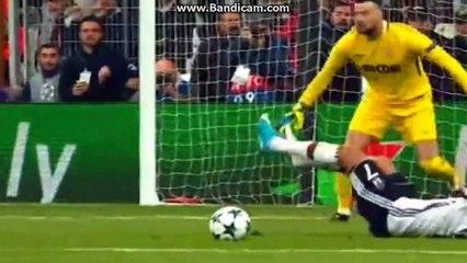 Beşiktaş 1-1 Monaco -Cenk Tosun- Penalty Goal 01-11-2017