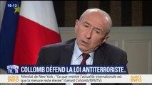 """Collomb: en cas d'attentat de masse, """"nous pourrions revenir à l'état d'urgence"""""""