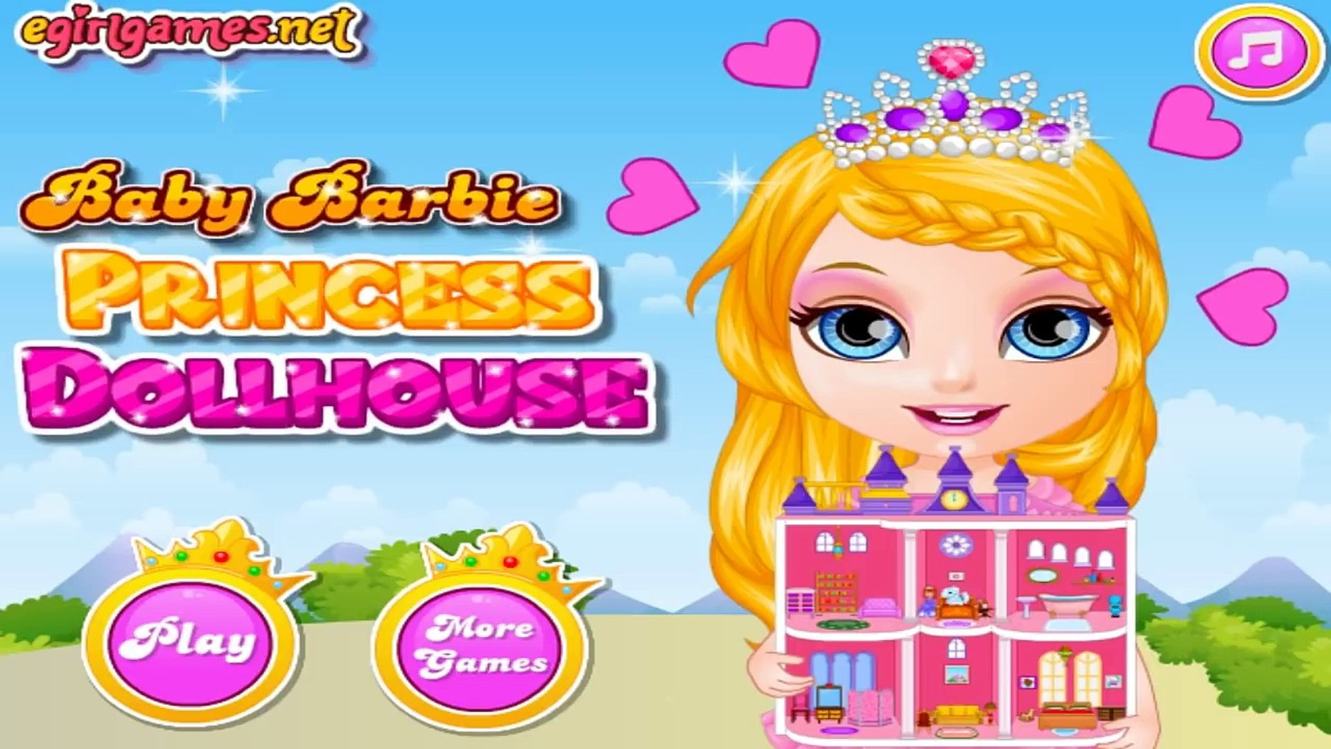Permainan Anak Anak Perempuan Games Bayi Barbie Baby Barbie Princess Dollhouse Ž±ç‰‡ Dailymotion