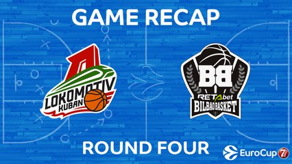 7Days EuroCup Highlights Regular Season, Round 4: Lokomotiv 102-86 Bilbao