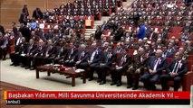Başbakan Yıldırım, Milli Savunma Üniversitesinde Akademik Yıl Açılışına Katıldı 1