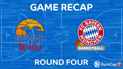 7Days EuroCup Highlights Regular Season, Round 4: Buducnost 60-76 Bayern