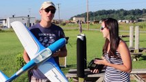 Tower Hobbies Millennium Master First Flight Impressions w/ Abby - Brushless RC Plane - TheRcSaylors