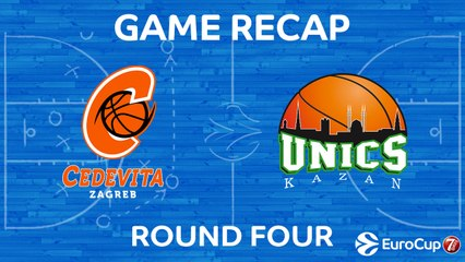 7Days EuroCup Highlights Regular Season, Round 4: Cedevita 94-74 UNICS