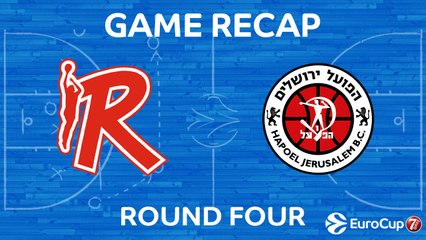 7Days EuroCup Highlights Regular Season, Round 4: Reggio Emilia 61-63 Jerusalem