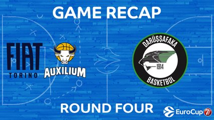 7Days EuroCup Highlights Regular Season, Round 4: Fiat 60-89 Darussafaka