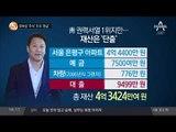 장하성 '주식' 조국 '현금'_채널A_뉴스TOP10