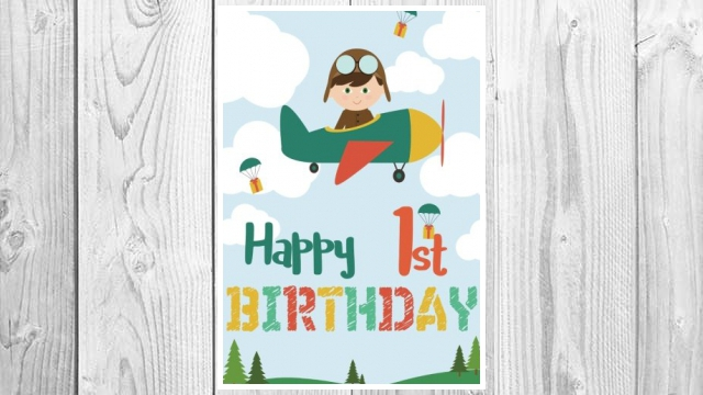 Download PDF Happy 1st Birthday: Birthday Books For Boys, Birthday Journal Notebook For 1 Year Old For Journaling & Doodling, 7 x 10, (Birthday Keepsake Book) FREE