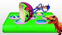 LEARN COLORS! Sponge Bob! Dora! McQueen! Angry Birds! Dinosaur! Surprise Eggs!