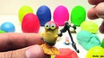 PLAY - DOH PLASTELIN Jaja sa iznenadjenjem !!! Igracke iz KINDER JAJA , Surprise eggs Play Doh