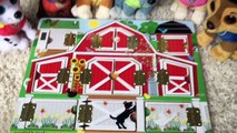 PAW PATROL Beanie Boos and PUPPY Learn Farm Animals and Sounds!!-qWs9MsV6pLg
