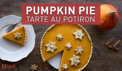 "Tarte au potiron ""Pumpkin pie"" | regal.fr"