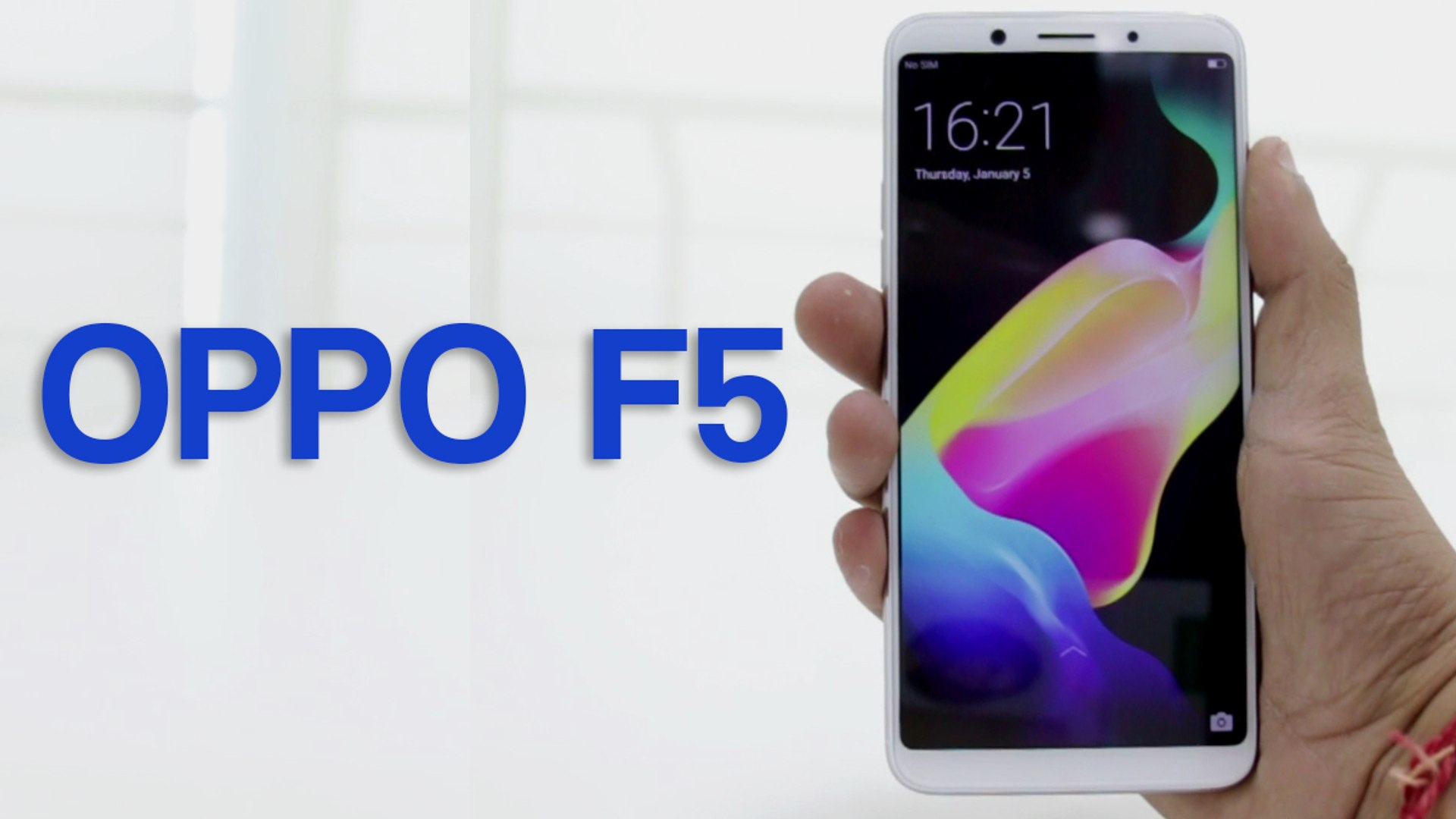 Oppo F5 with AI selfie camera is priced at Rs 19,990 [First Impressions]