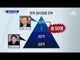 """윤석열 파격 승진…검사장들 """"사표 내야하나"""""""