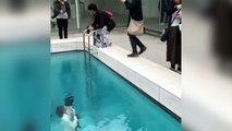 Cette piscine au Japon est juste une illusion !