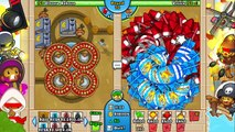 How FAST is a ZOMG on Round 1000?? Bloons TD Battles (BTD