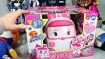 로보카폴리 엠버 구급차 병원놀이 의사 주사 인형 놀이 타요 뽀로로 장난감 Робокар Поли Игрушки Doctor Kit Tayo car Toy