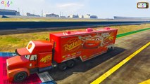 Disney Pixar Cars Mack Truck Hauler Disney Cars 2 Lightning Mcqueen Pixar Cars Tow Mater Part 1