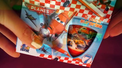 12 kinder surprise eggs - Disney Planes 2, Violetta, 40th anniversary kinder surprise