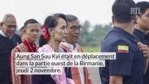 La présidente birmane en visite auprès des Rohingyas
