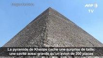 Egypte: découverte d'une cavité dans la pyramide de Khéops