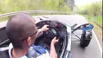 Formula Ford EcoBoost. Street Legal Racer on Road and Nürburgring