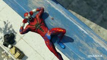 Spider Man Ps4 All 28 Spider Man Suits Showcase Every Unlockable