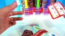 SECRET LIFE OF PETS PEZ Candy Dispensers, Toy Surprises, Max, Chloe, Duke, Snowball, Num Noms Lights