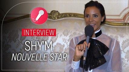 Sh'ym animatrice de Nouvelle star :  elle flippe un peu pour les émissions en public