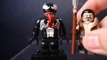 Custom Lego Spider-Man Villains Part 3 (Kraven The Hunter, Venom, and Carnage