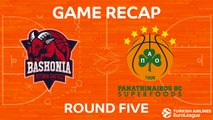 Highlights: Baskonia Vitoria Gasteiz - Panathinaikos Superfoods Athens