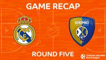Highlights: Real Madrid - Khimki Moscow region