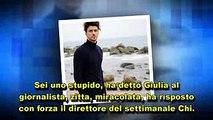 Grande Fratello Vip Signorini non parlerà più di Giulia De Lellis  M.C.G.S