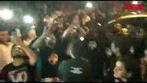 Shahrukh Khan 52 Birthday Fan outside Mannat shouting SRK SRK SRK SRK King Khan Rules