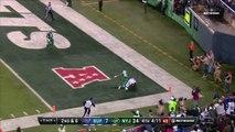 Buffalo Bills quarterback Tyrod Taylor drops a 26-yard DIME to wide receiver Deonte Thompson for TD
