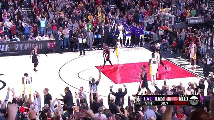 Damian Lillard Game-Winner  Lakers