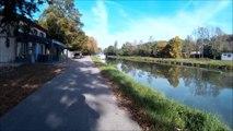 Canal à vélo - Toulouse Montauban par le canal lateral de Garonne et canal de Montech