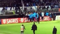 PATRICE EVRA fight with hooligans | Evra kicked a fan