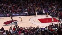 Damian Lillard game winner vs Lakers
