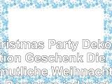 Christmas Party Dekoration Geschenk Die gemütliche Weihnachten Romanze jeder ist Verliebt