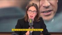 """Taxe sur les dividendes : """"Il faut arrêter de faire des choses d'amateur et du bricolage"""" Amélie de Montchalin"""