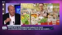"""Rodolphe se démarque: ICA et son concept """"In fridge delivery"""" avec clé électronique - 04/11"""
