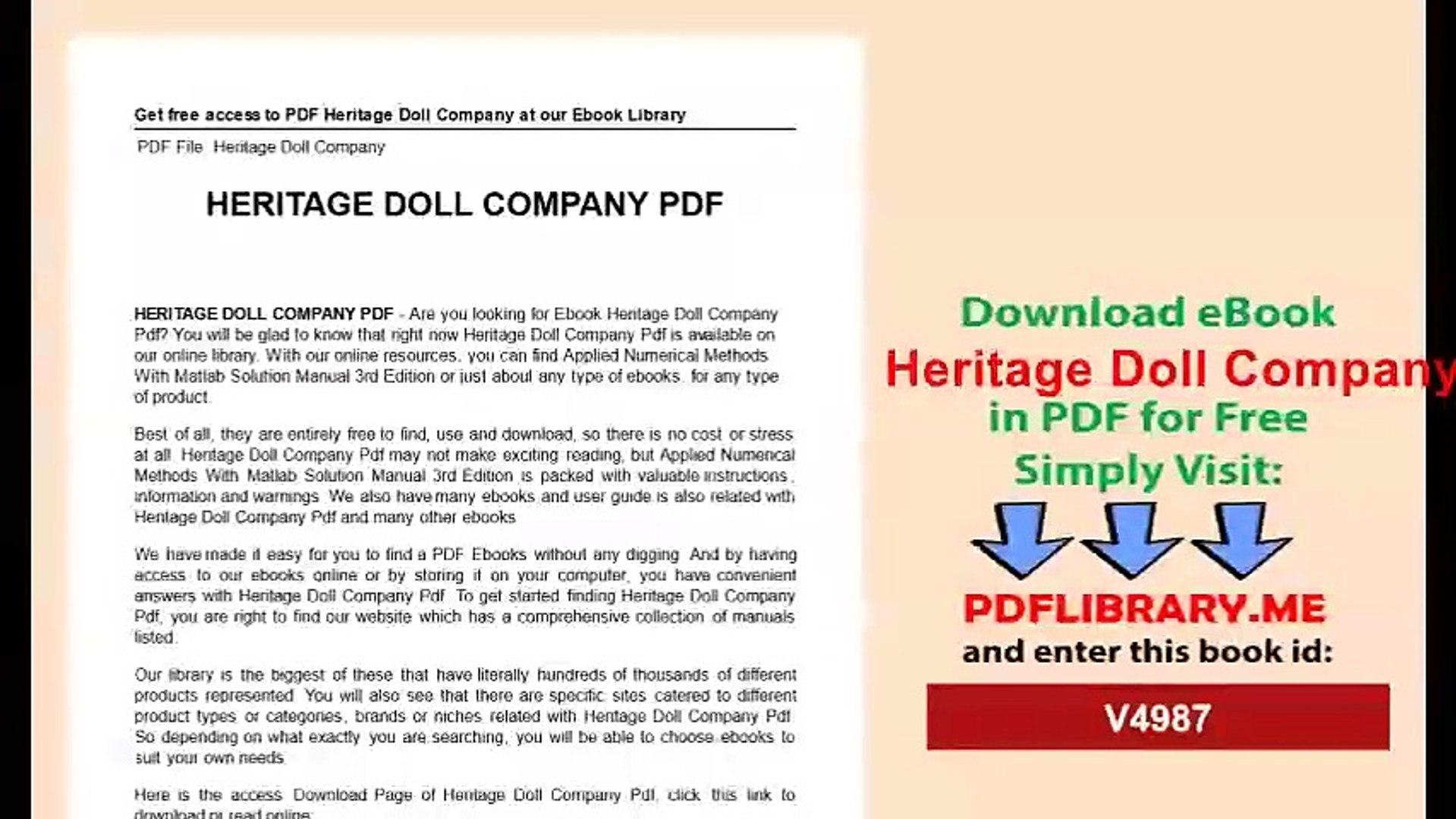 Heritage Doll Company