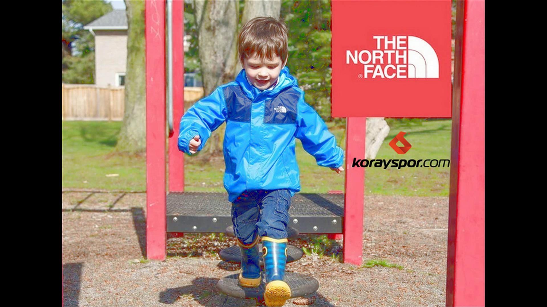 Dayanıklı Tasarımıyla North Face Yeni Sezon Tam Boy Fermuarlı Isıyı Koruyan Çocuk Montları